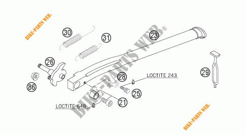 KTM Seite Stand Bracket CPL 50303026100